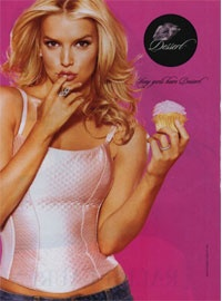 remember Jessica Simpson's DESSERT  makeup line!