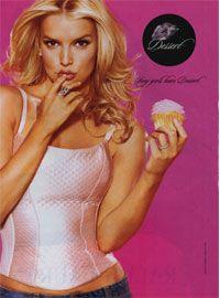remember Jessica Simpson's DESSERT  makeup line!
