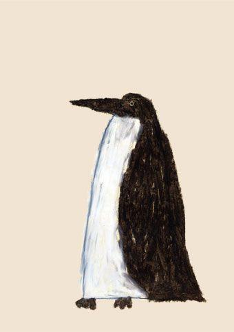 Penguin by Japanese illustrator - Yusuke Yonezu