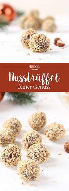 Nusstrüffel - Hussel Confiserie