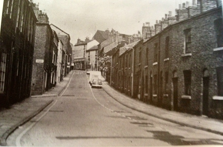 Pickford Street just before the large Co-op Normid Superstore was built
