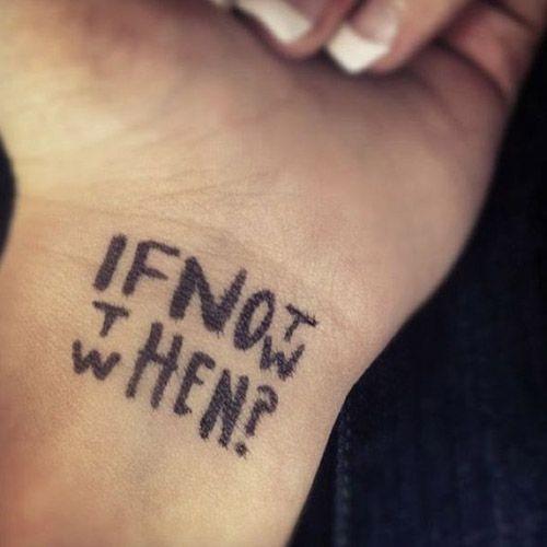 If not now then when? -Cool http://www.retroj.am/wrist-tattoos/