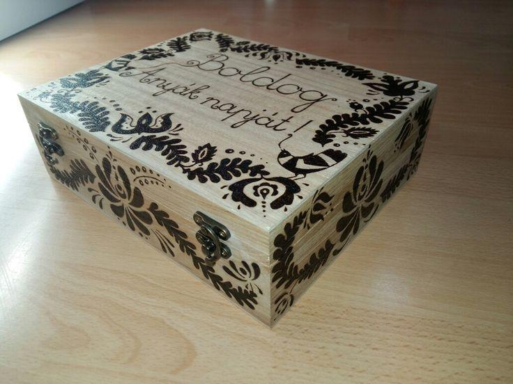 Teabag-box with hungarian motifs - 2016.06.22.