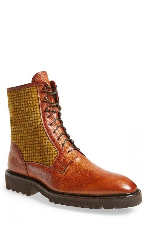 Carlos Santos Amado Boots Men Tan 8 D | Footwear