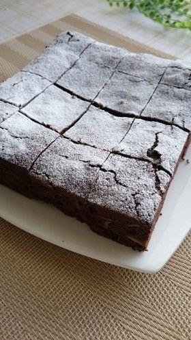 しっかり濃厚チョコブラウニー by しうしら [クックパッド] 簡単おいしいみんなのレシピが264万品