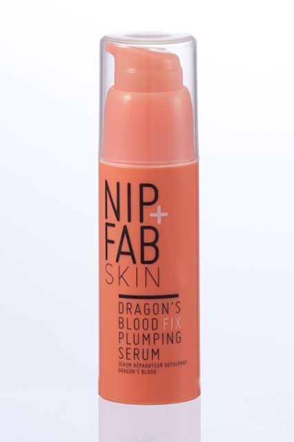 Nip + Fab Dragon's Blood Fix Plumping SerumBack in March, Kylie was announced as Nip + Fab's newest brand ambassador after revealing her love for its products via — what else — Instagram. This ultra-hydrating serum is her go-to for long flights, as it's packed with hyaluronic acid and a velvet flower blend that leaves skin looking plump and moisturized.