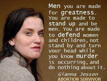 Gianna Jessen, survivor of a failed saline abortion