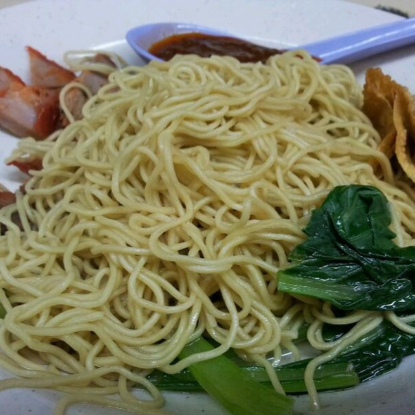 Wanton noodle @ Joo Chiat King of minced meat noodle, Tembeling Road, Singapore