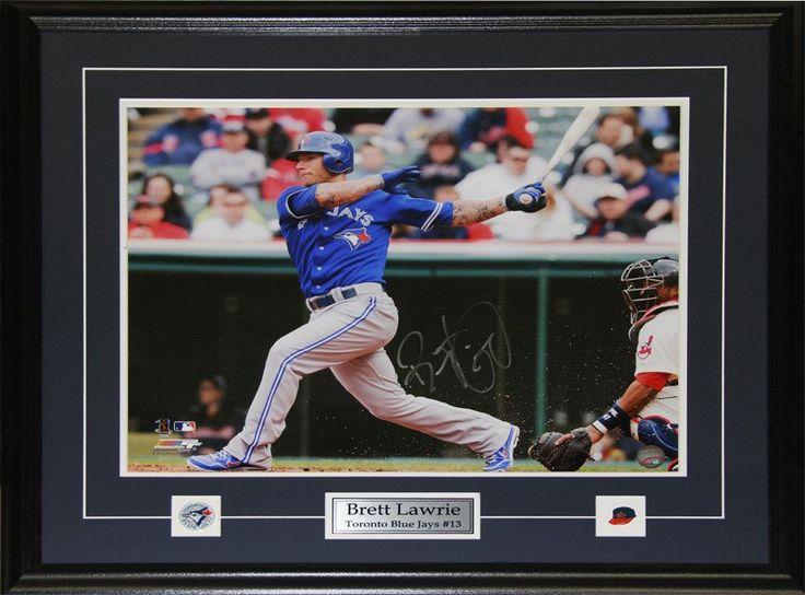 Brett Lawrie Toronto Blue Jays Autographed 16x20 Photographed Framed $225.00 plus tax