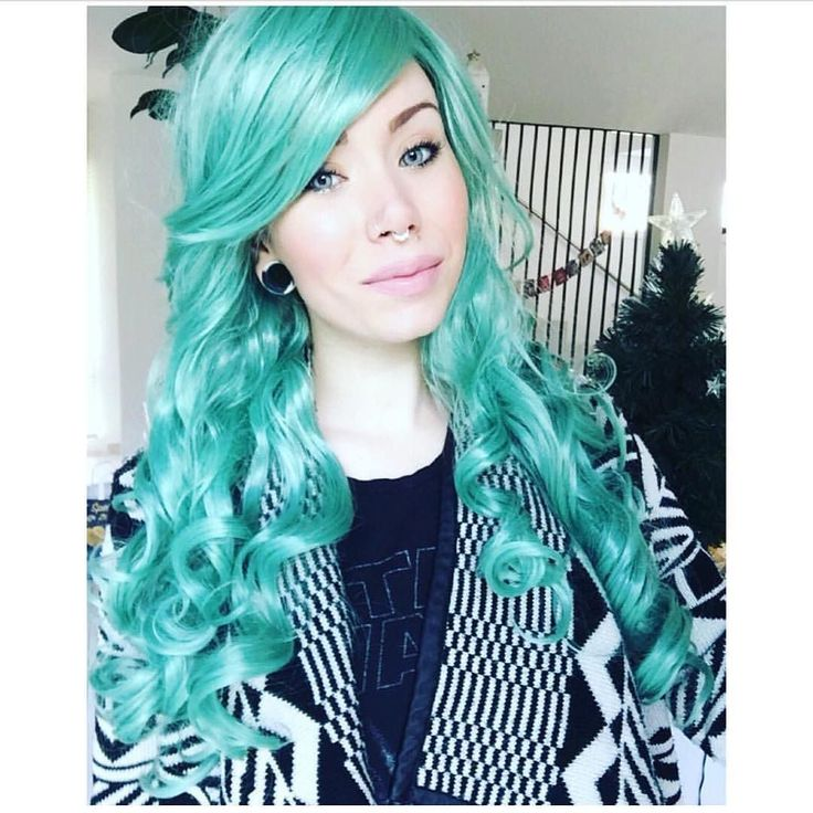 The beautiful @t.b.barnes in Lush style Green Revolution #lushwigs #lushwigsgreenrevolution #justwow She is available to buy now from lushwigs.com (link in bio)