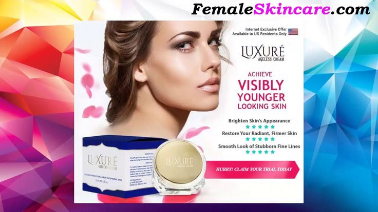 Luxure Ageless Cream Review - Restores Your Skin's Natural #Beauty