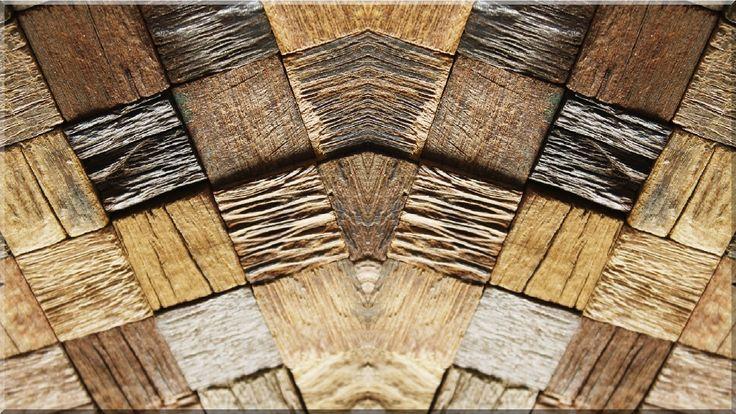 Mozaik falburkolat, loft dekoráció