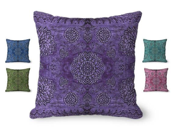 Hey, I found this really awesome Etsy listing at https://www.etsy.com/listing/454016762/purple-pillow-cover-bohemian-decor-throw