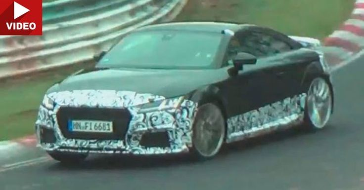 2017 Audi TT RS Coupe And Cabrio Tackle The Nurburgring #Audi #Audi_Scoops