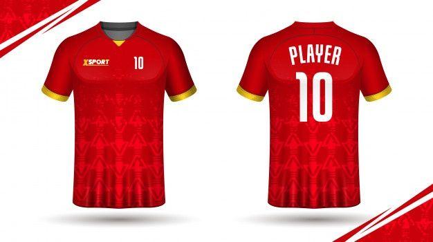 Download Soccer Jersey Template Sport T Shirt Design In 2020 Sports Tshirt Designs Soccer Jersey Sport T Shirt