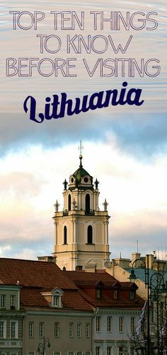 Are you planning trip to Lithuania? I share my top ten tips for travelers that have Lithuania on their bucket list. Click here and find out what you should know before visiting Lithuania and Vilnius!