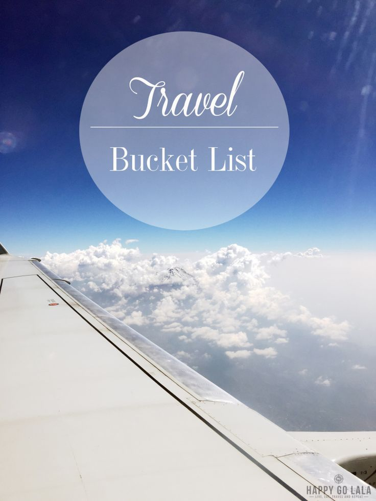 Meine ganz persönliche Travel Bucket List - vielleicht ist auch was für euch dabei? #wanderlust #travelbucketlist #travel #reisen