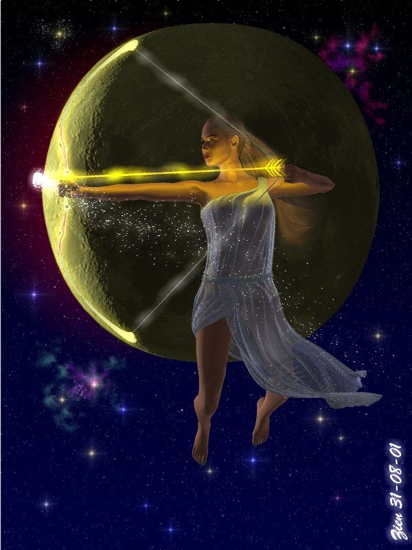 Artemis, Huntress of the Moon, make my aim true.  Give me goals to seek and the Constant determination to achieve them.  Grant me communion with nature... Allow me the strength and wisdom to by my own mistress, not defined by the expectations of others. And sustain my sexuality to be as yours- wild and free as nature itself...   joyful heart/ lighthearted laughter set your power in motion/ spread love and light.