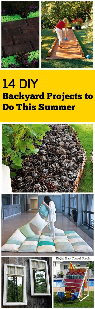14 DIY Backyard Projects to Do This Summer