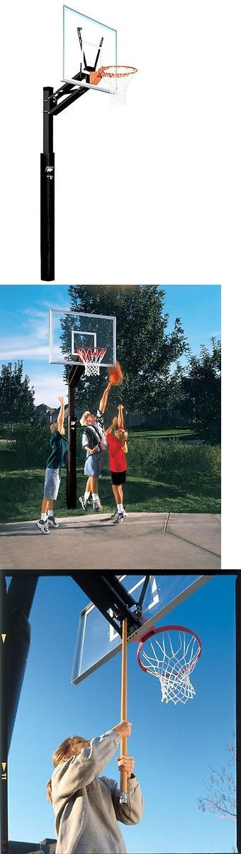 Backboard Systems 21196: Bison All Conference Adjustable Basketball Hoop, New -> BUY IT NOW ONLY: $929 on eBay!