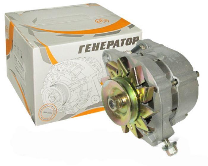 Схема подключения генератора на автомобиль ВАЗ 2101 (Г-221) 4 – выключатель зажигания, 1 – аккумуляторная батарея, 3 – регулятор напряжения, 2 – генератор, 5 – блок предохранителей, 7 – реле сигнализатора РС-702, 6 – лампа сигнализатора заряда аккумулятора.   #ВАЗ 2101 #ВА