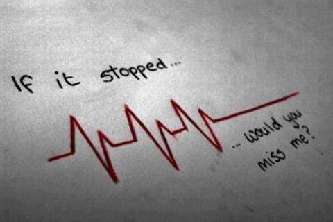 """""""Un coeur brisé ? Synonyme d'une opération à coeur ouvert sans anesthésie.""""  :( Jonathan Pasquier"""