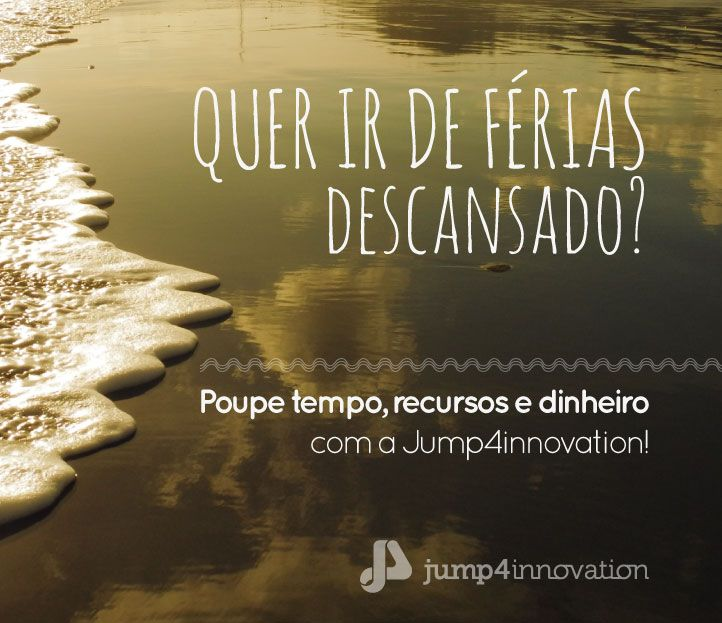 Desfrute do Verão com a Jump4Innovation!