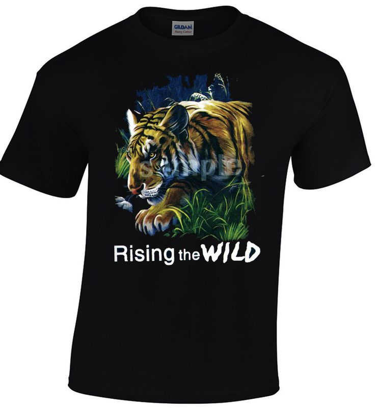 Hello! New Arrivals! Grap your favorite t-shirt today from MINOSDESIGNS Store!  Tiger Rising The Wild Short Sleeve Gildan T-shirt Wild Life Cool Men Top Tee  https://goo.gl/NYIyUj $15.75 https://minostshirts.com #BengalTiger #baby #clothing #black #3XL #charcoal #L #jungle #2XL #grey #gildan #gray #AwesomeGift #5XL #4XL