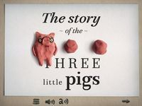 "Good Free App of the Day: Three Little Pigs the Story-A ""claymation"" masterpiece! Normally $10 http://www.smartappsforkids.com/2014/01/good-free-app-of-the-day-three-little-pigs-.html"