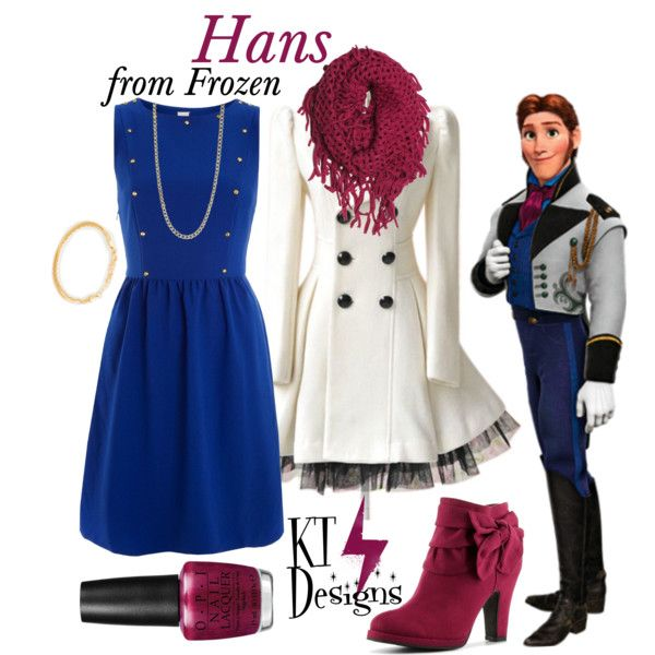 """""""Hans"""" by ktdesigns-1 on Polyvore I haven't seen frozen yet but this set is adorable."""