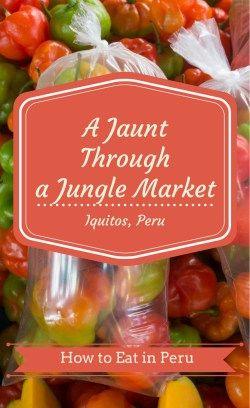A Jaunt Through a Jungle Market (Belén Market, Iquitos, Peru) - Project Dinner Party