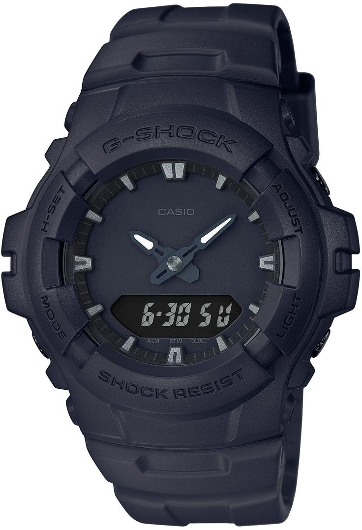 CASIO G-SHOCK G-100BB-1AJF MENS JAPAN IMPORT. Resin band.