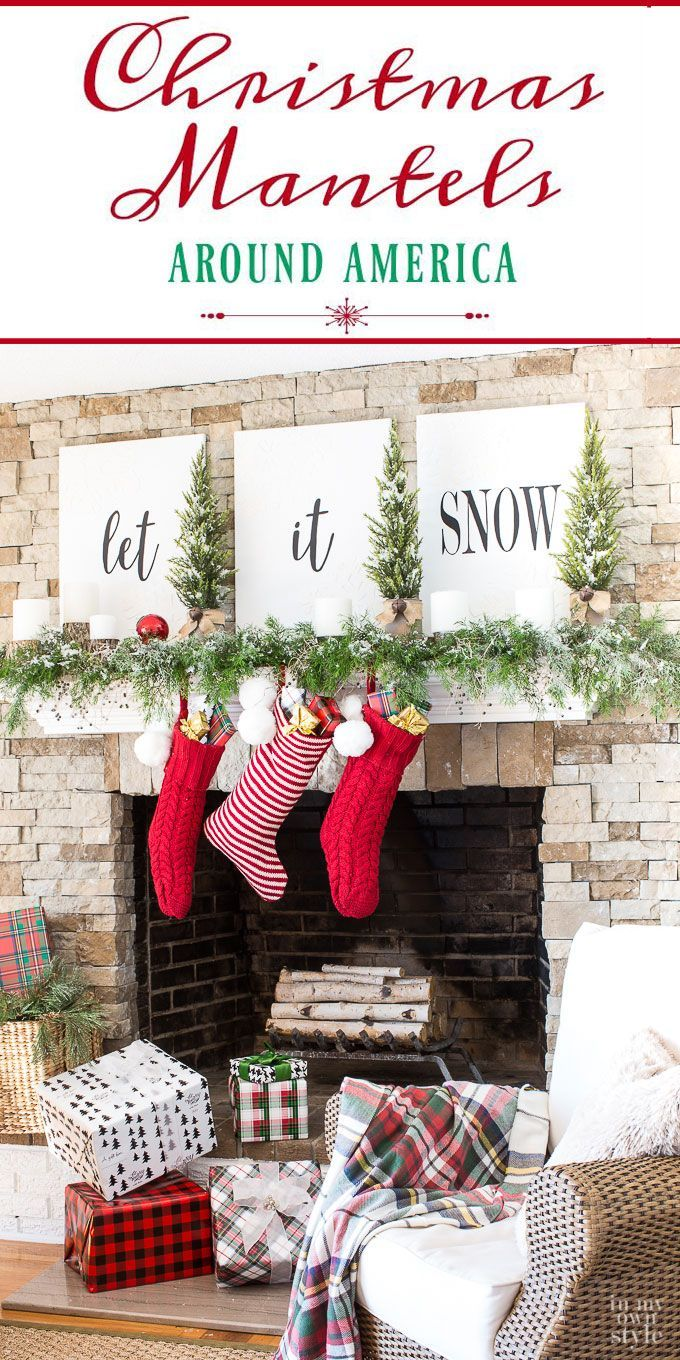 Do you decorate your mantel or house for the holidays? If so, you will enjoy visiting these fabulous blogs in the Christmas Mantels Across America tour to see how they've decorated their Christmas mantels in the region where they live!