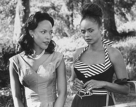 From one of my favorite movies, Eve's Bayou - timeless beauties Lynn Whitfield and Debbi Morgan