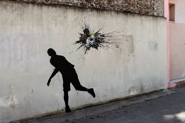 #Streetart 3 nová streetartová díla od Pejaca