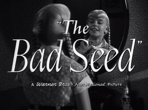 """The Bad Seed"" (1956) - Opening Title - Rhoda Penmark (Patty McCormack)"