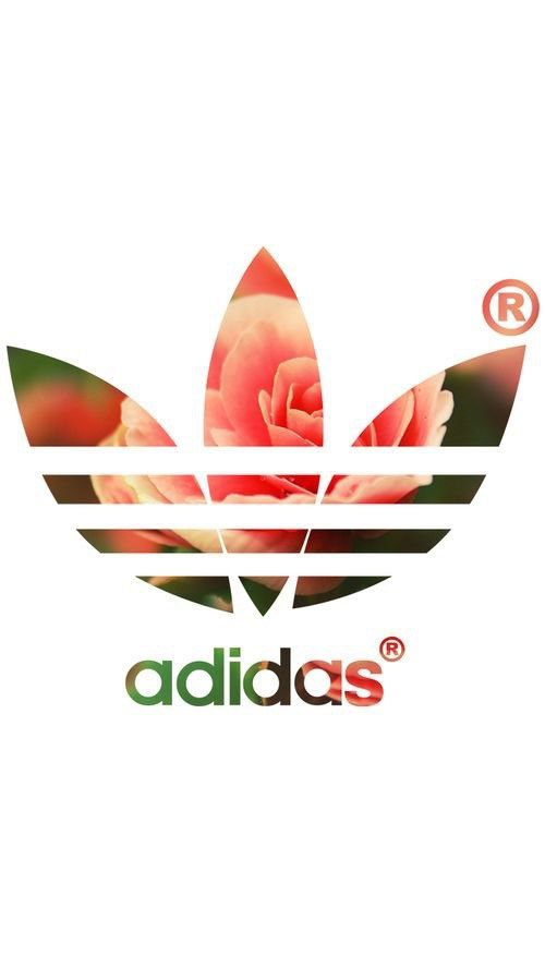 アディダスオリジナルス/ロゴ薔薇 iPhone壁紙 Wallpaper Backgrounds iPhone6/6S and Plus Adidas…