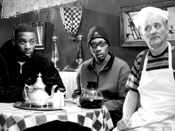 Wu-Tang Clan drinking herbal tea with Bill Murray.