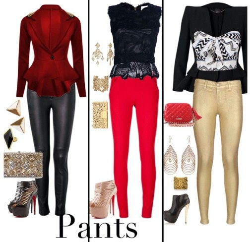 Christmas Party Trousers: 129 Best Leather Pants: The Most Versatile Piece In A