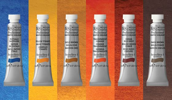 Winsor and newton limited edition desert collection
