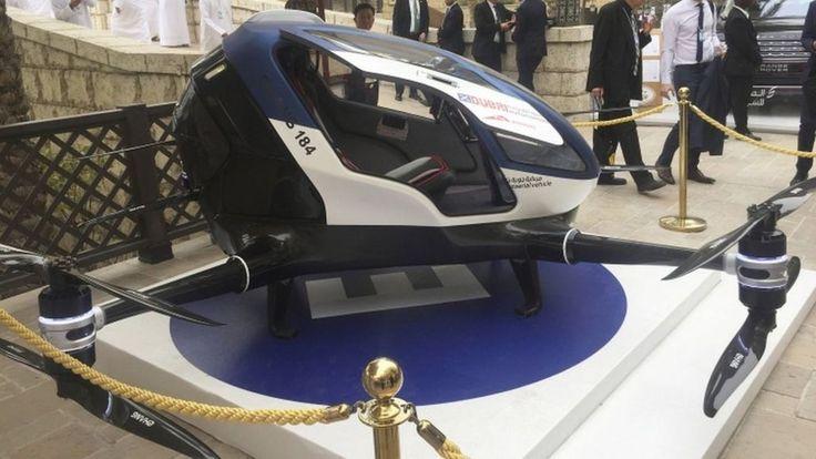 Dubai announces passenger drone plans - BBC News