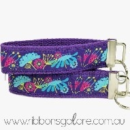 key ring : purple sophie ribbon (32mm wide) - $15.00 : Ribbons Galore, your online store for the best ribbons