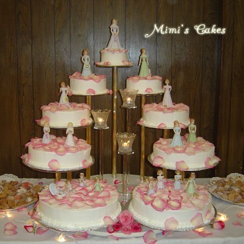 Debut Cake Design With Stairs : 56 best Traditional Wedding Cakes images on Pinterest