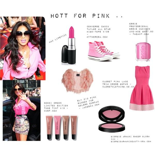 """""""HOTTT for Pink …."""" by thewhiteboard on Polyvore"""