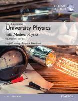 Sears and Zemansky's University physics with modern physics / Hugh D. Young, Roger A. Freedman Topogràfic: 57.08 YOU #novetatsCRAIUBMedicina