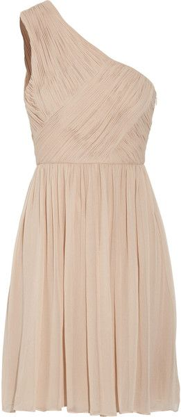 I am not a lover of the one sholder look, but I will make an exception for this gorgeous Tibi dress!