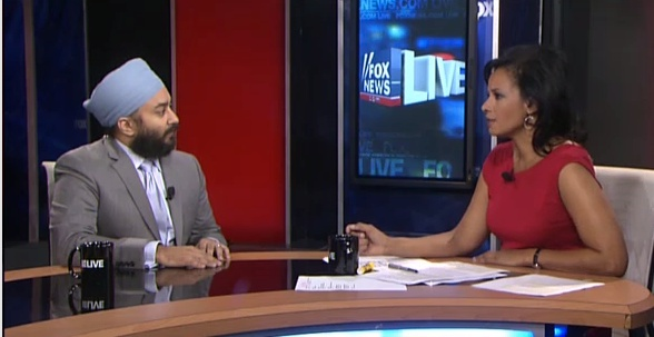 Narinder Singh on Fox News Live (Aug 10, 2012)