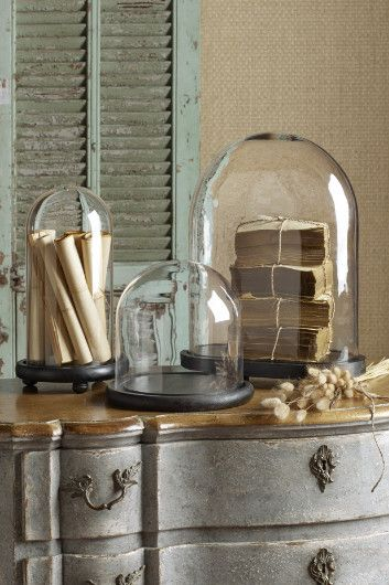 Cloche Glass Dome Home Decor