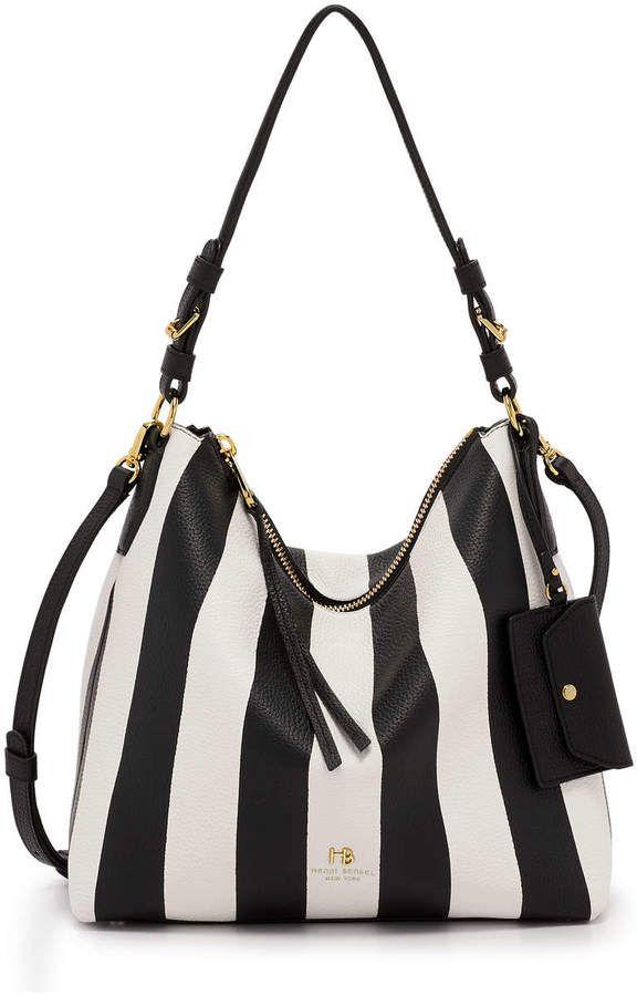 011580d7 Henri Bendel Noho Striped Convertible Hobo | Wish List. | Bags, Shoulder bag,  Henri bendel