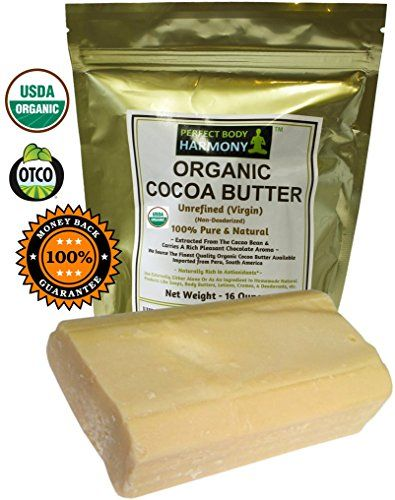 100% Unrefined Organic Shea Butter - FREE Body Butter Recipes eBook - Best Organic African Grade A Ivory - Safe for any age and skin type, non-comedogenic - Rich in Vitamins A, E and F - Use on Acne, Eczema, Stretch Marks, Rashes - Use As Belly Butter To Keep Mommy's Skin Soft And Supple - Essential Ingredient for DIY Body Butters, Lotions, Lotion Bars, Soaps and Other Natural Skincare Recipes - Color: IVORY - 1LB (16oz)